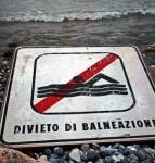 divieto di balneazione 1