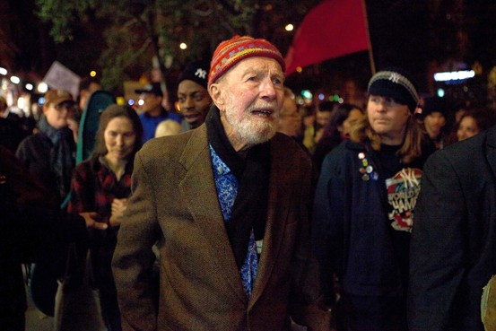 Pete Seeger a Occupy Wall Street 2011