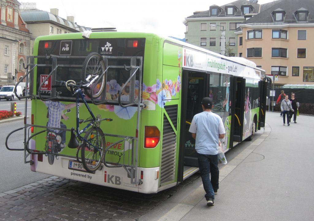 trasporto bici Innsbruck